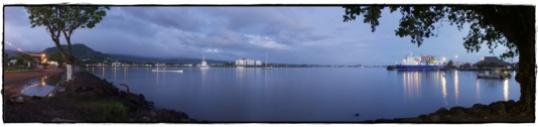 Hafen von Apia 2003