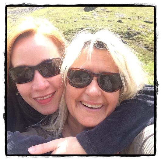 Gabriele Ketterl mit meiner Helferin Stephanie Linnhe. ;)